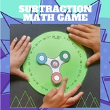 Spinner Game Subtraction