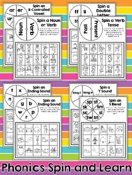 MORE Early Finishers Spin and Learn Games