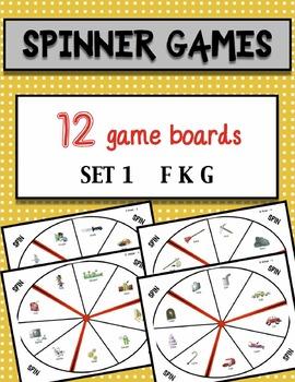 Spinner Games Set 1 F K G sounds