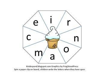 Spinner-Ice Cream Cone