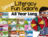 Spinner Literacy Fun All Year Long-Differentiated- Color/B