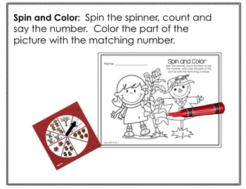 Spinner Math Fun Galore for October-Differentiated and Aligned