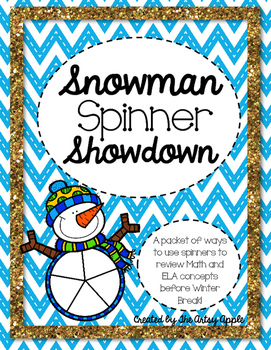 Spinner Showdown - Math & ELA Review Games