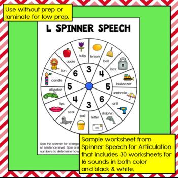 Spinner Speech L Freebie