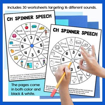 Spinner Speech for Articulation