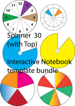 Spinner bundle Interactive NB Templates 31 Commercial
