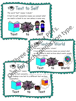 Spinner the Spider - Reading Comprehension Strategy Teacching Unit - Beanie Baby