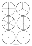 Spinners - 5 Spinner types - 1/3, 1/4, 1/6, 1,8 and blank.