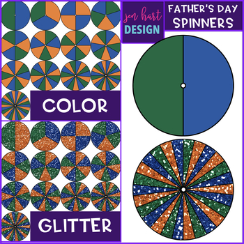 Spinners Clip Art - Father's Day {jen hart Clip Art}