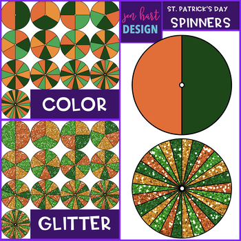 Spinners Clip Art - March