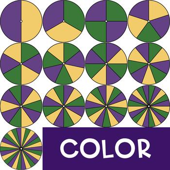 Spinners Clip Art - Mardi Gras {jen hart Clip Art}