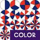 Spinners Clip Art - Patriotic