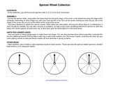 Spinners Set with 2,3,4,5,6,8, or 10 -Make your own games, student pickers, more
