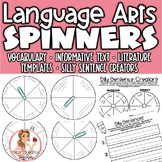 Language Arts Spinners Pack