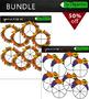 Spinners clipart  BUNDLE MEGA PACK-autumn