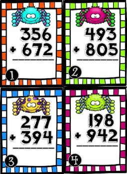 Spinnin' Some Addition & Subtraction