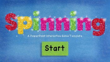 Game Template - Spinning - PowerPoint Interactive Game