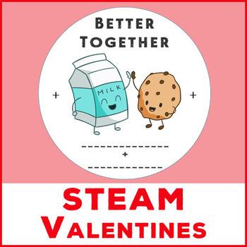 Spinning STEAM Valentines - DIY or Printable