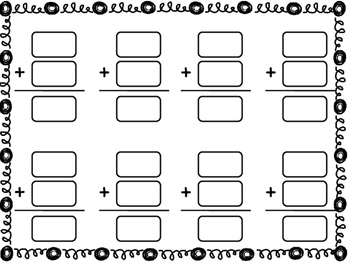 Spinning Snowmen - Addition with Regrouping