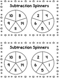 Spinning Subtraction Differences Activity {FREEBIE}