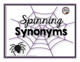 Spinning Synonyms: Working with Words Activity