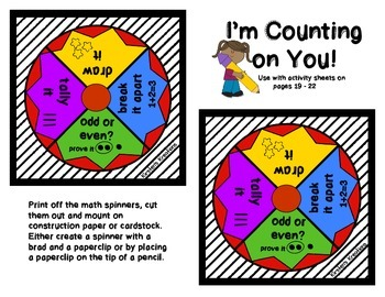I'm Counting on You - Math Spinners: Number Sense Edition