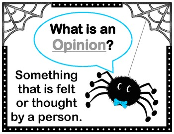 Spinning a Web with Fact and Opinion