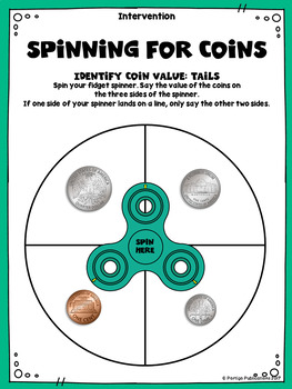 Adding Money: Spinning for Coins