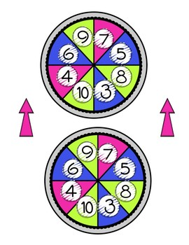 Spinning for Facts - A Multiplication Center Game
