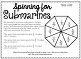 Spinning for Submarines: Math TEKS 4.3D