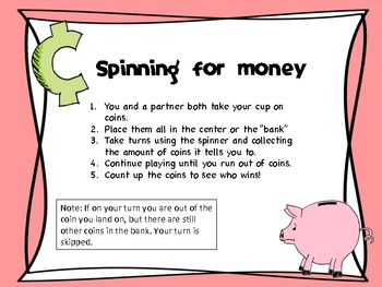 Spinning for money (FREE)