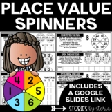 Place Value Games and Worksheets with Spinners