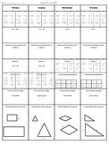 Spiral Homework (7th grade Math) #6