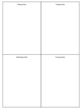 Spiral Homework - Set of 8 - Bundle (8th Grade Math)