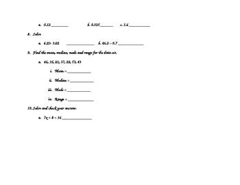 Spiral Homework Week 1