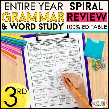 3rd Grade Language Homework 3rd Grade Morning Work 3rd Grade Grammar Review