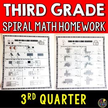 Math Homework Third Grade Quarter 3