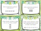 Spiral Math Review Task Cards-March