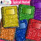 Spiral Notebook Clip Art | Back to School Supplies Graphics for Journals 2
