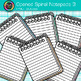 Opened Spiral Notepads Clip Art 3 - Back to School Supplie