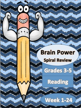 Spiral Reading Homework Week 1-24