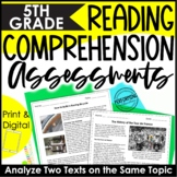 Spiral Reading Review Assessments   ELA Test Prep   Analyz
