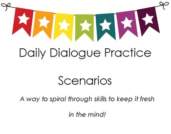 Spiral Review - Dialogue