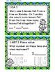 Math Task Cards September 1st Grade Math