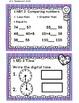 Math Task Cards for February 1st Grade Math