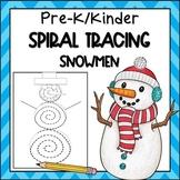Winter Tracing Practice