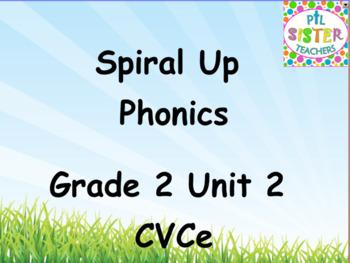 Spiral Up Phonics SMARTBOARD CVCe