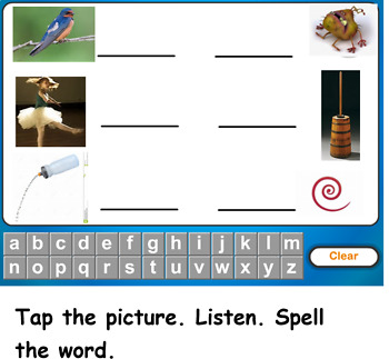 Spiral Up Phonics SMARTBOARD Unit 10 er (er, ir, ur, ear)
