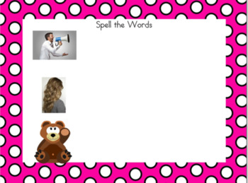 Spiral Up Phonics SMARTBOARD Unit 11 /air/ are, ear, are, err