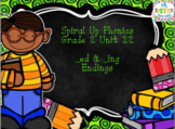 Spiral Up Phonics SMARTBOARD Unit 22 ED & ING Endings